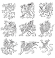 Heraldic monsters vol v vector