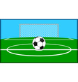 Soccer theme vector
