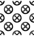 Pinions and gears seamless pattern vector