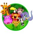 Safari animal vector