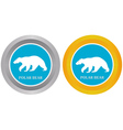 Two buttons vector