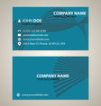 Corporate business card v 6 vector