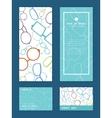 Colorful glasses vertical frame pattern vector