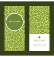 Abstract green natural texture vertical vector