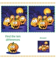 Find differences between the two images vector