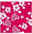 Seamless hibiscus vector