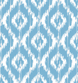 Ikat damask vector