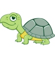 Cute funny turtle cartoon vector