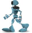 Walking robot vector