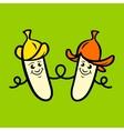 Family banana sign vector