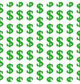 Dollar symbol seamless pattern vector