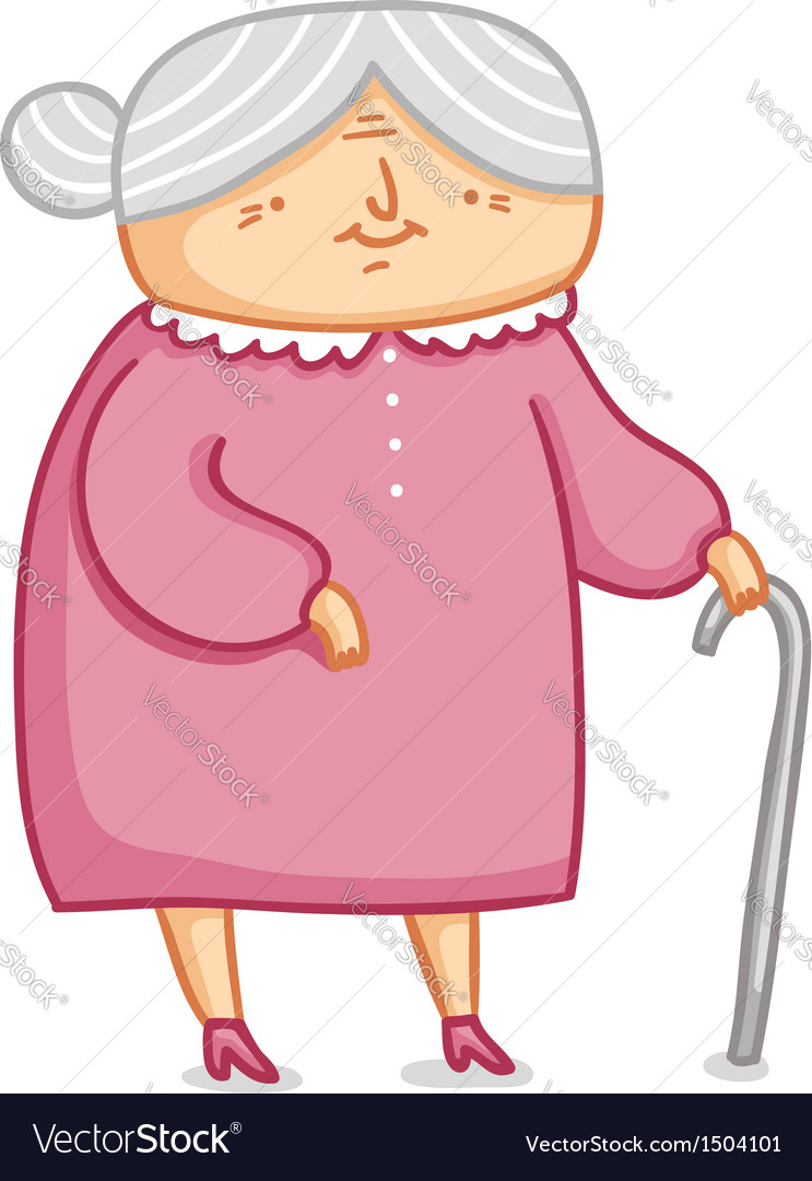 Grandma vector | Price: 3 Credit (USD $3)
