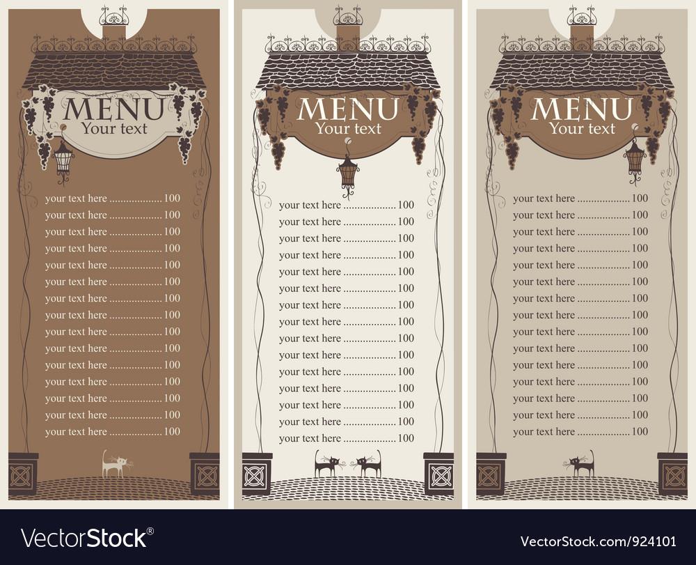 Grapes menu vector | Price: 1 Credit (USD $1)