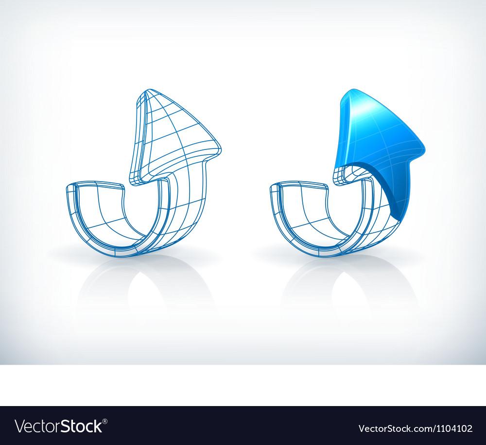 Drawing arrows vector | Price: 1 Credit (USD $1)