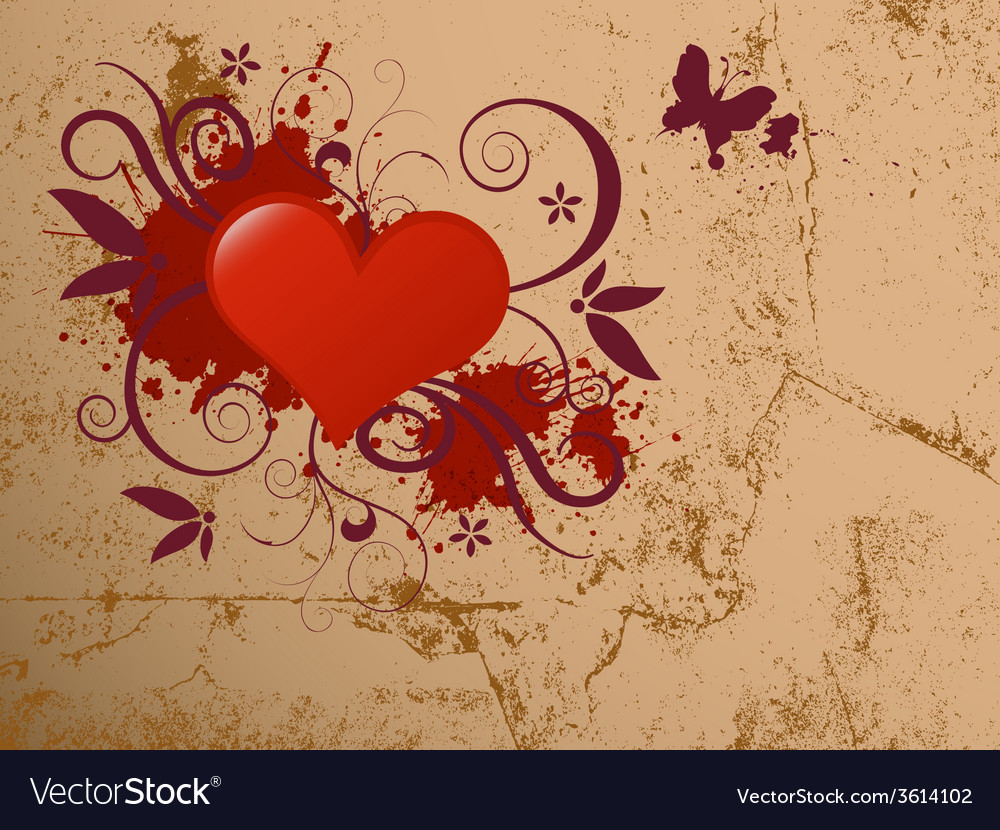 Glossy heart vector | Price: 1 Credit (USD $1)