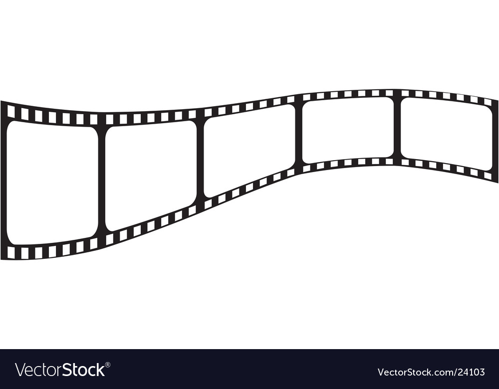 Blank film vector | Price: 1 Credit (USD $1)