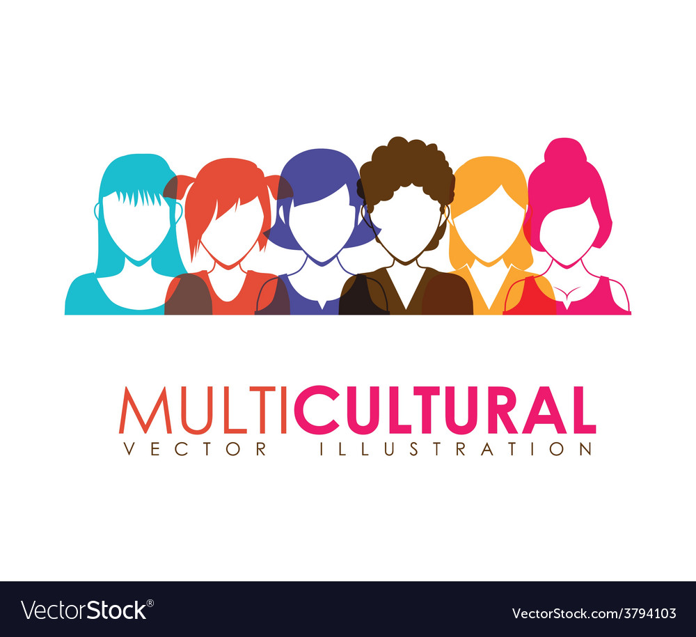 Multicultural vector   Price: 1 Credit (USD $1)