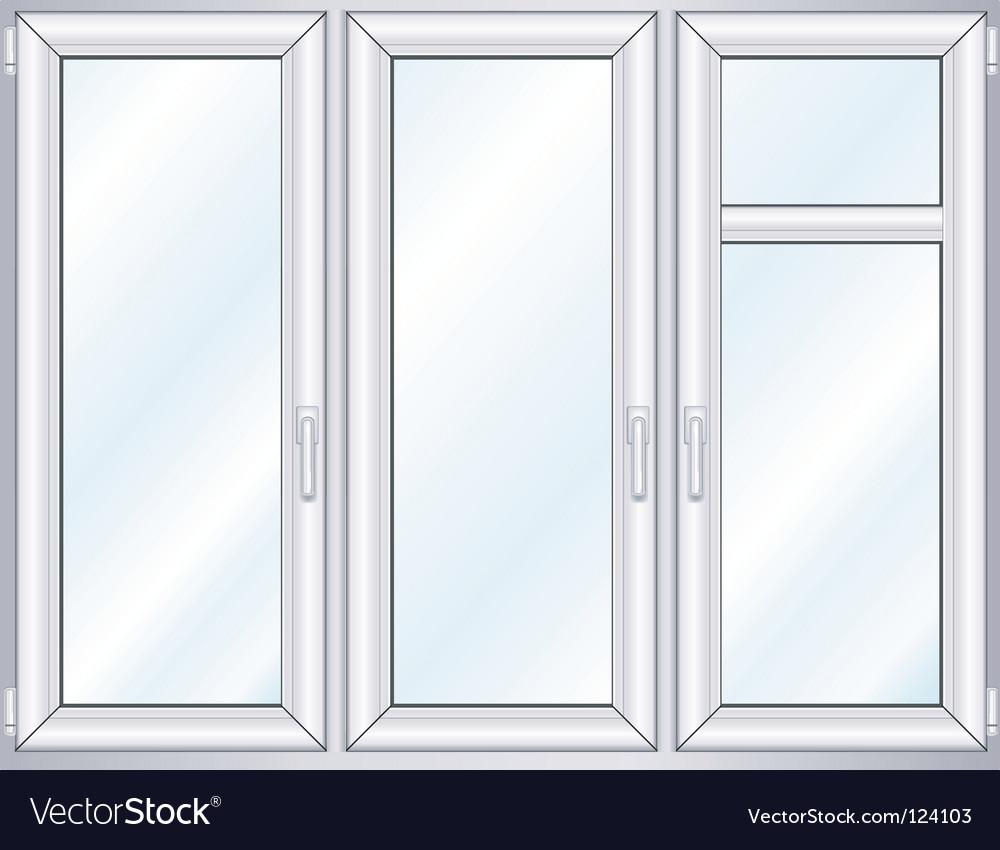 Plastic window vector | Price: 1 Credit (USD $1)