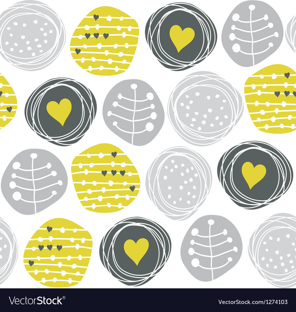 Retro pattern circles vector | Price: 1 Credit (USD $1)