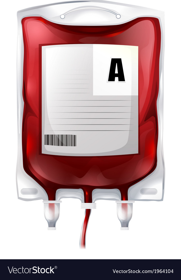 Blood bag a vector | Price: 1 Credit (USD $1)