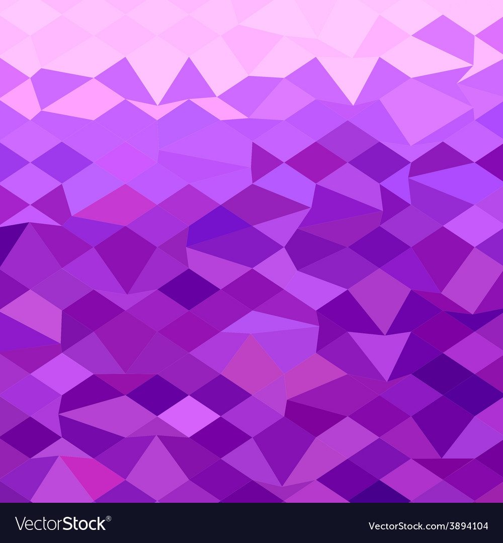 Purple abstract low polygon background vector | Price: 1 Credit (USD $1)