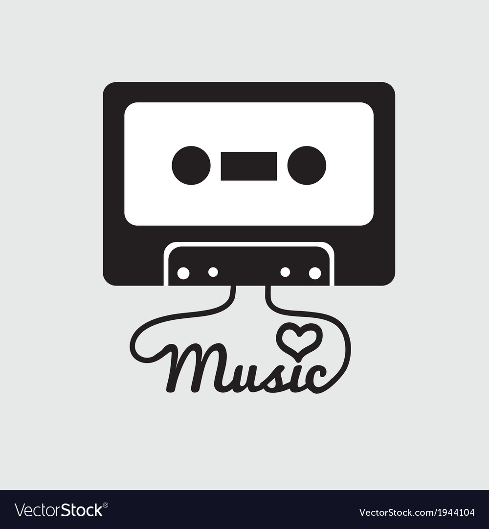 Tape cassette vector | Price: 1 Credit (USD $1)