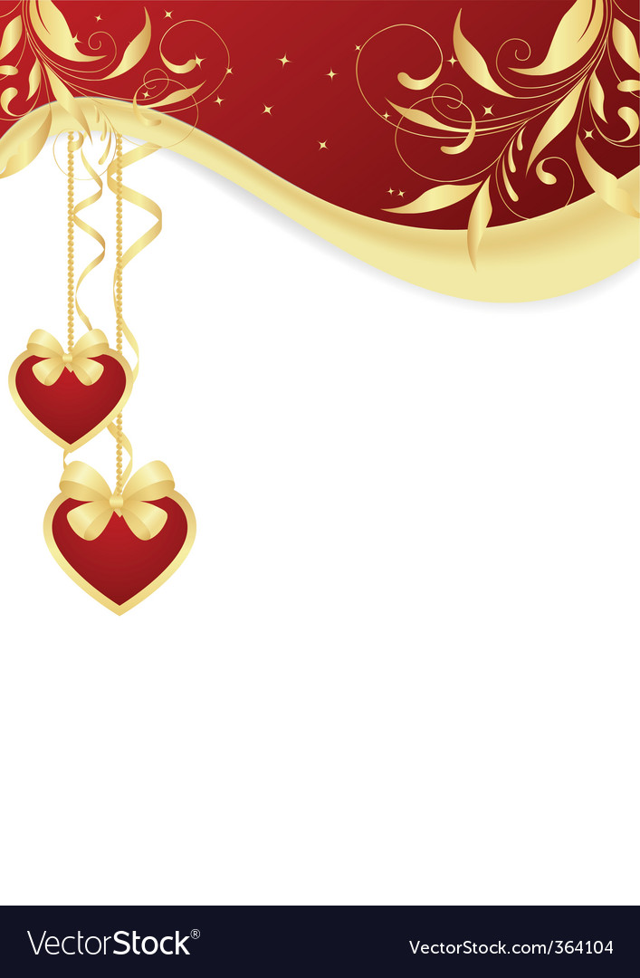 Valentines greeting card vector | Price: 3 Credit (USD $3)