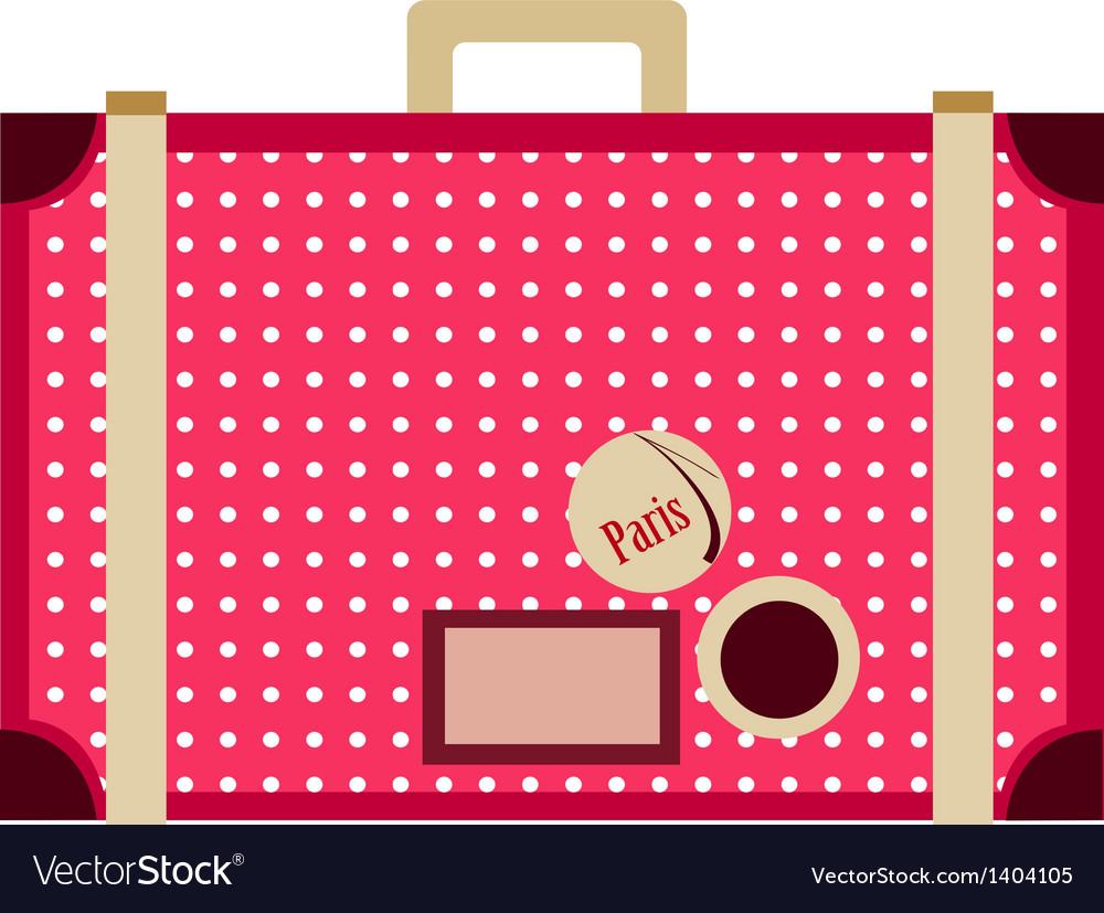 Icon suitcase vector | Price: 1 Credit (USD $1)