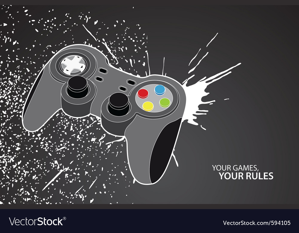 Pc or console controller vector | Price: 1 Credit (USD $1)
