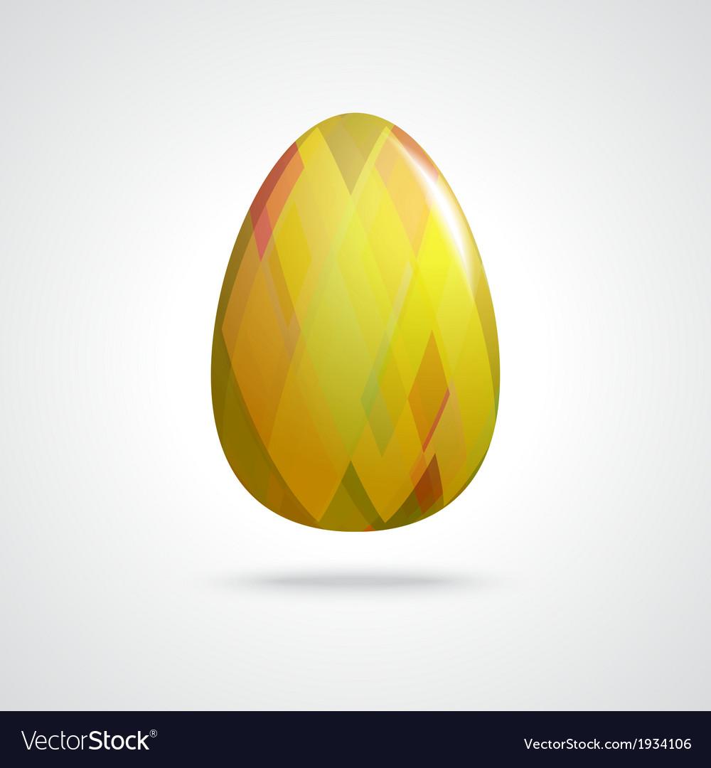 Golden easter egg vector   Price: 1 Credit (USD $1)