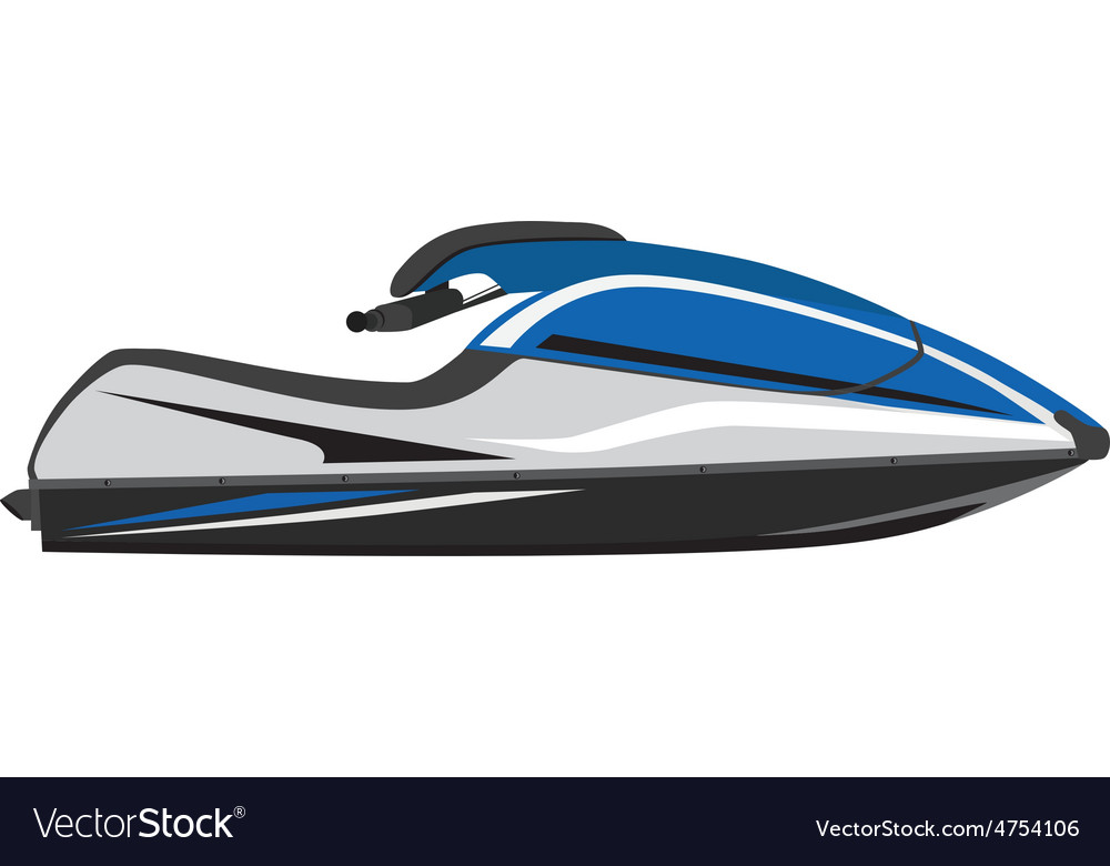 Water scooter vector | Price: 1 Credit (USD $1)
