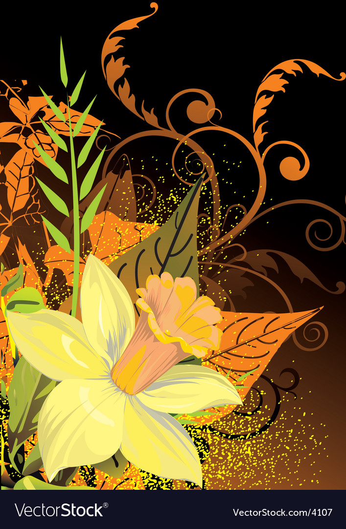 Floral elements vector | Price: 3 Credit (USD $3)