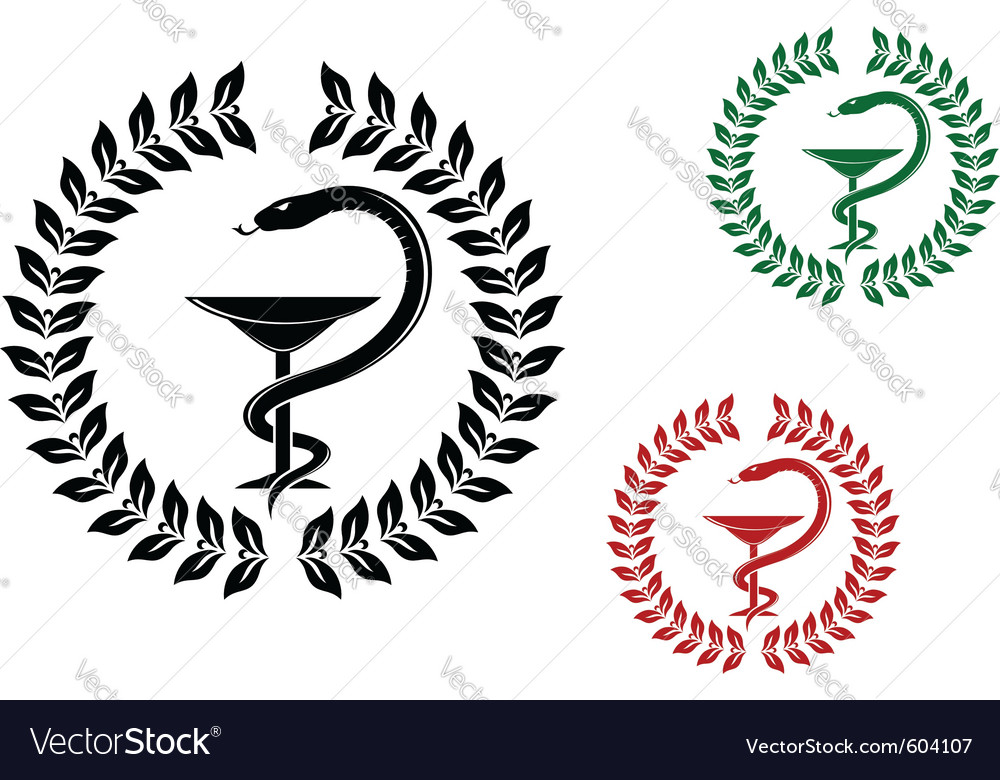 Medicine symbol vector | Price: 1 Credit (USD $1)