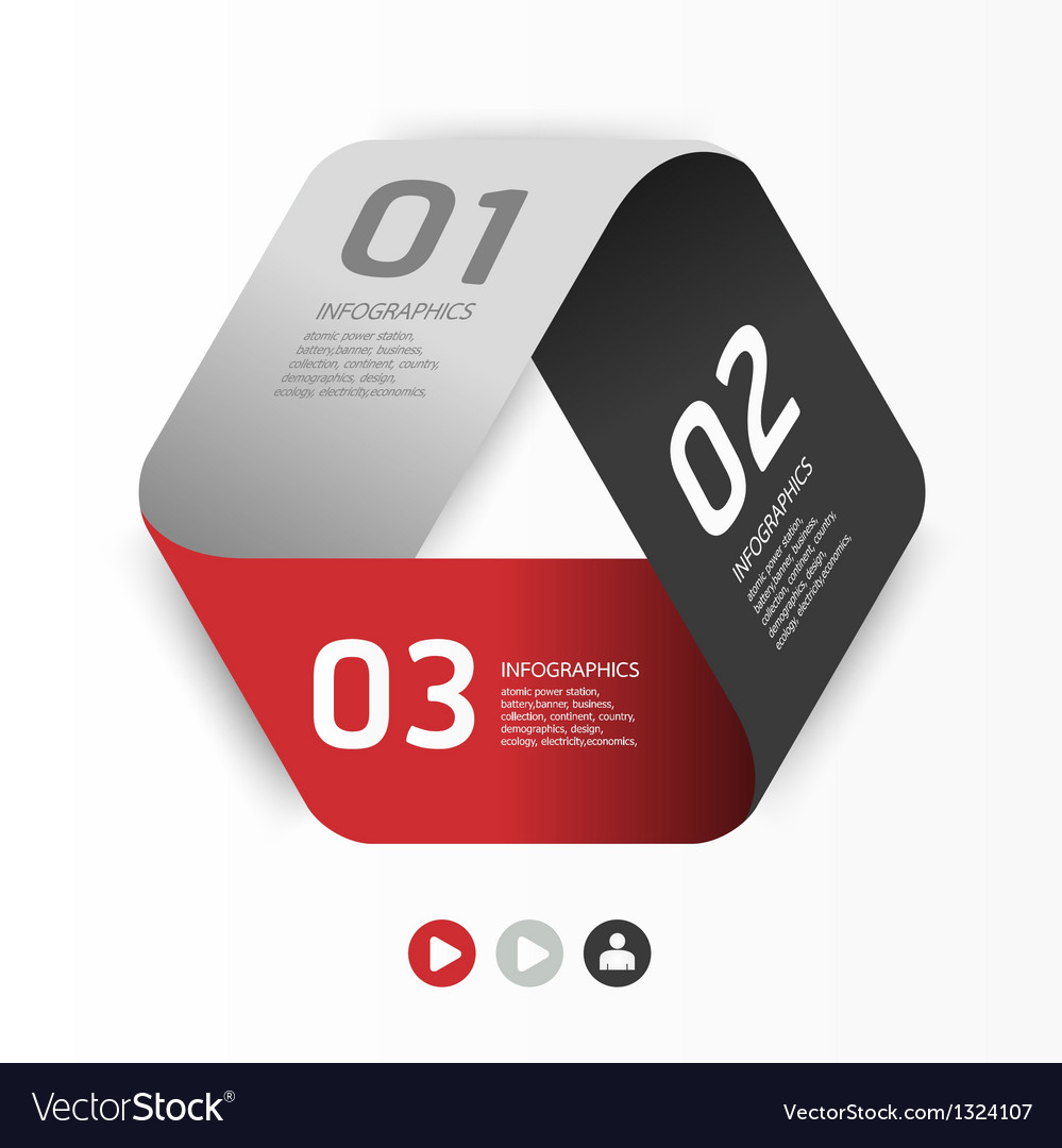 Modern design template can be used for infographi vector | Price: 1 Credit (USD $1)
