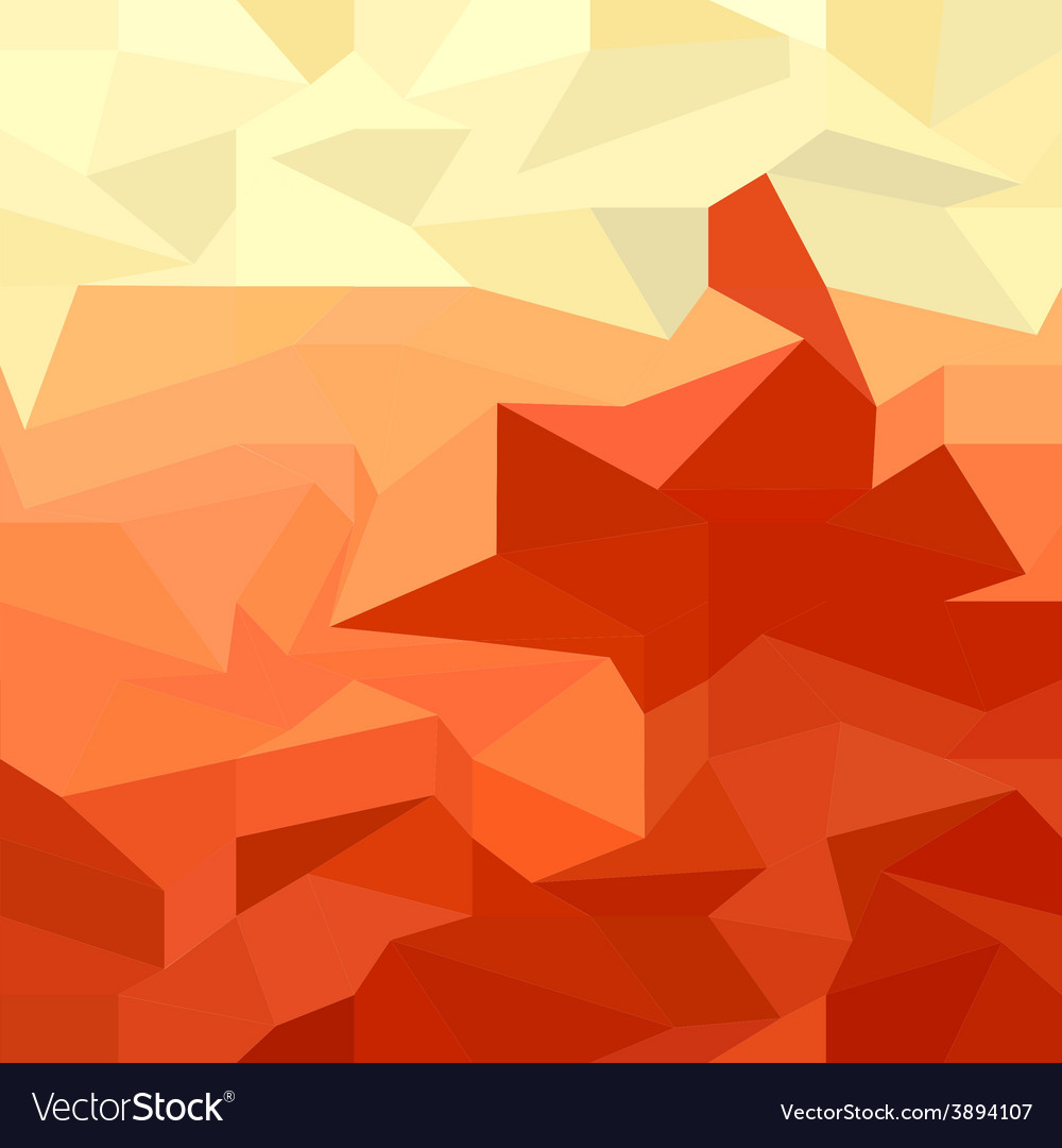Red abstract low polygon background vector | Price: 1 Credit (USD $1)