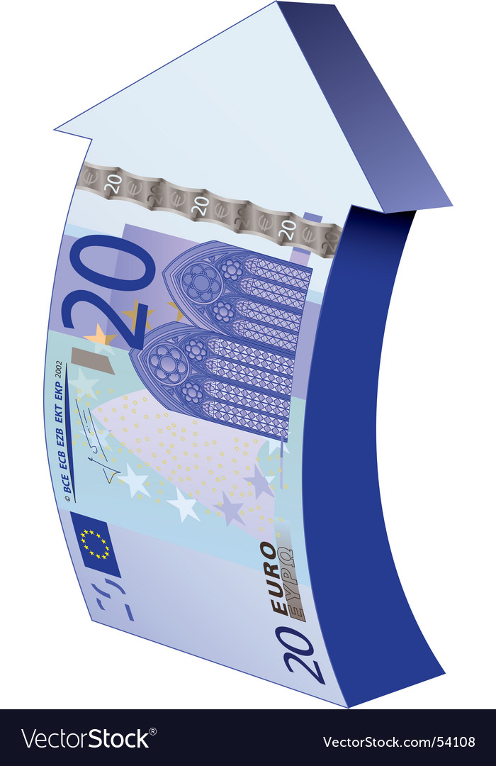 Euros 20 banknote vector | Price: 1 Credit (USD $1)