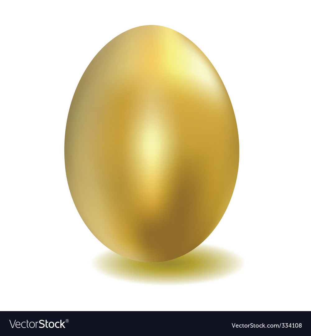 Golden egg vector | Price: 1 Credit (USD $1)