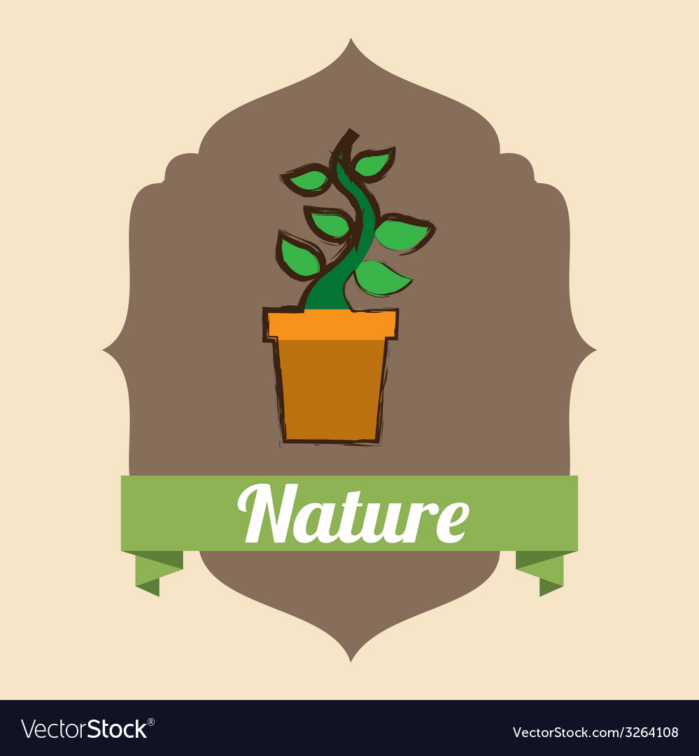 Nature design vector | Price: 1 Credit (USD $1)