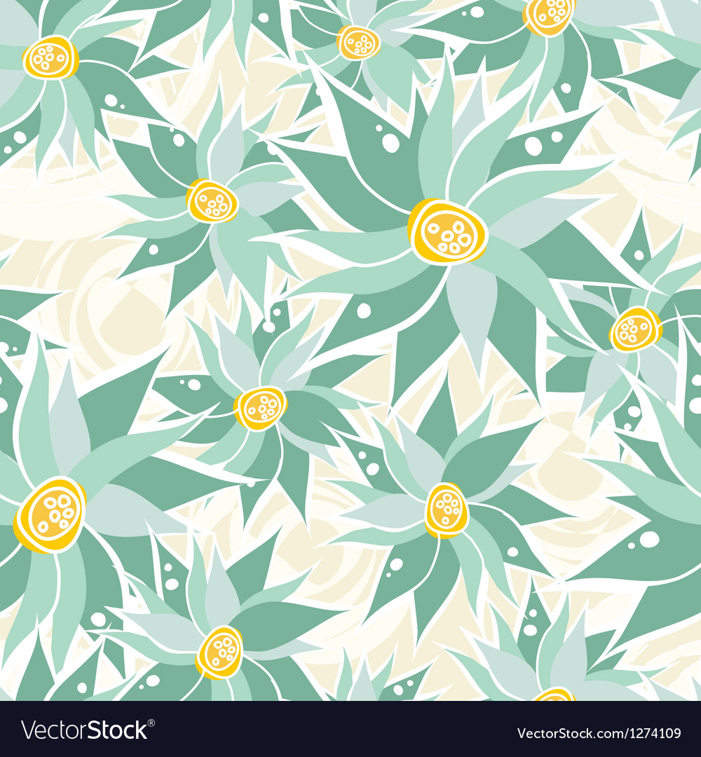 Abstract hand drawn wild flower patterns vector | Price: 1 Credit (USD $1)