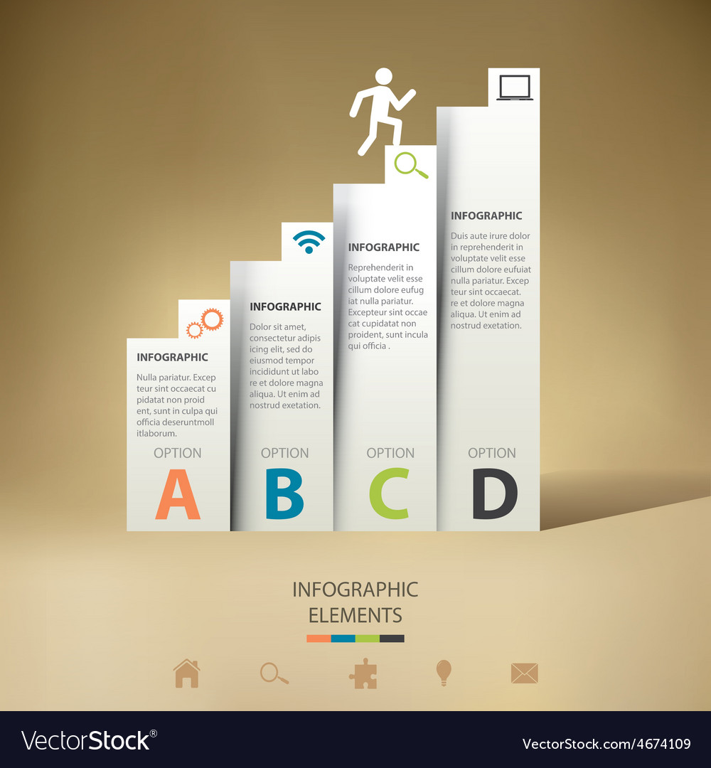 Modern infographic vector | Price: 1 Credit (USD $1)