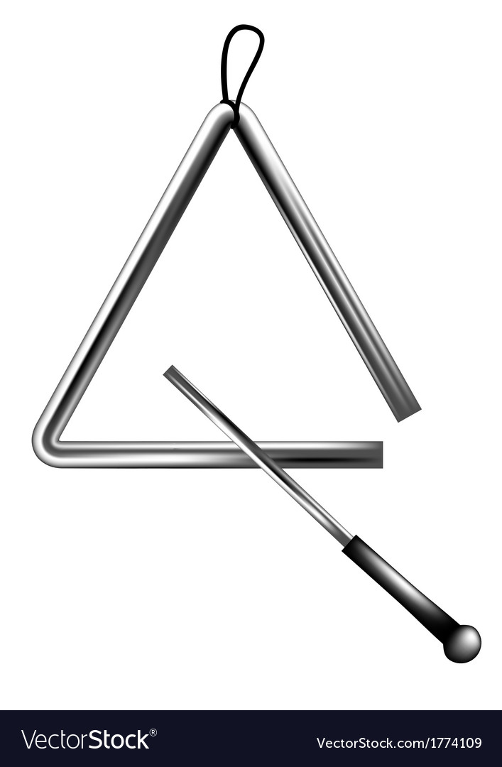 Percussion triangle vector | Price: 1 Credit (USD $1)