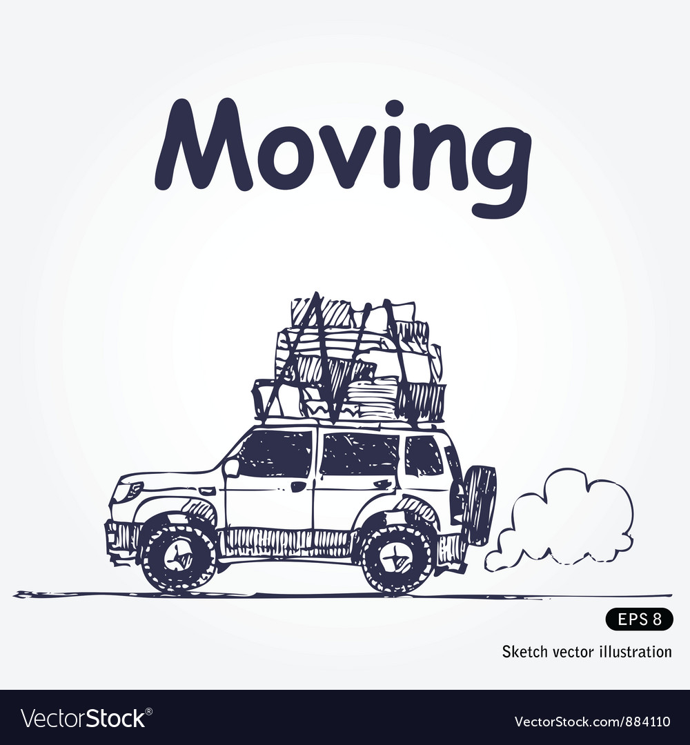 Moving vector | Price: 1 Credit (USD $1)