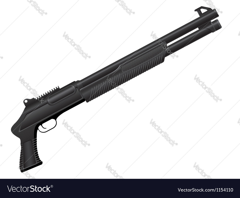 Shotgun 04 vector | Price: 1 Credit (USD $1)