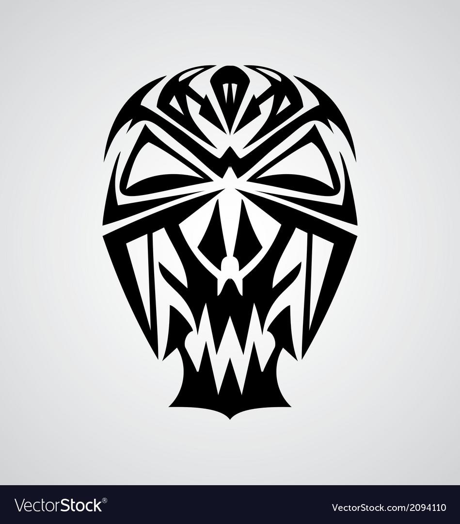 Skulls tribal vector   Price: 1 Credit (USD $1)
