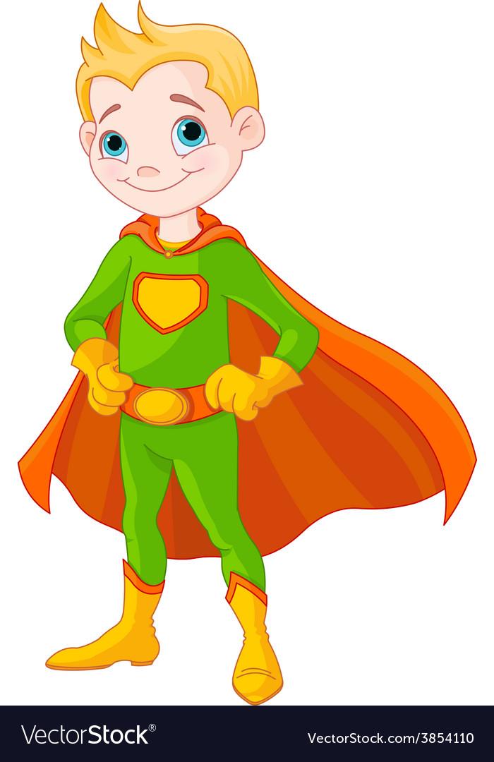 Super boy vector | Price: 3 Credit (USD $3)