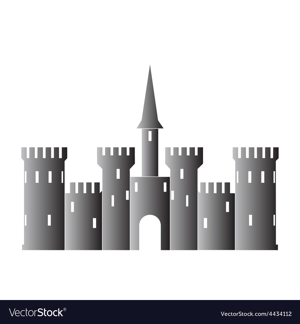 Abstract castle logo template vector | Price: 1 Credit (USD $1)