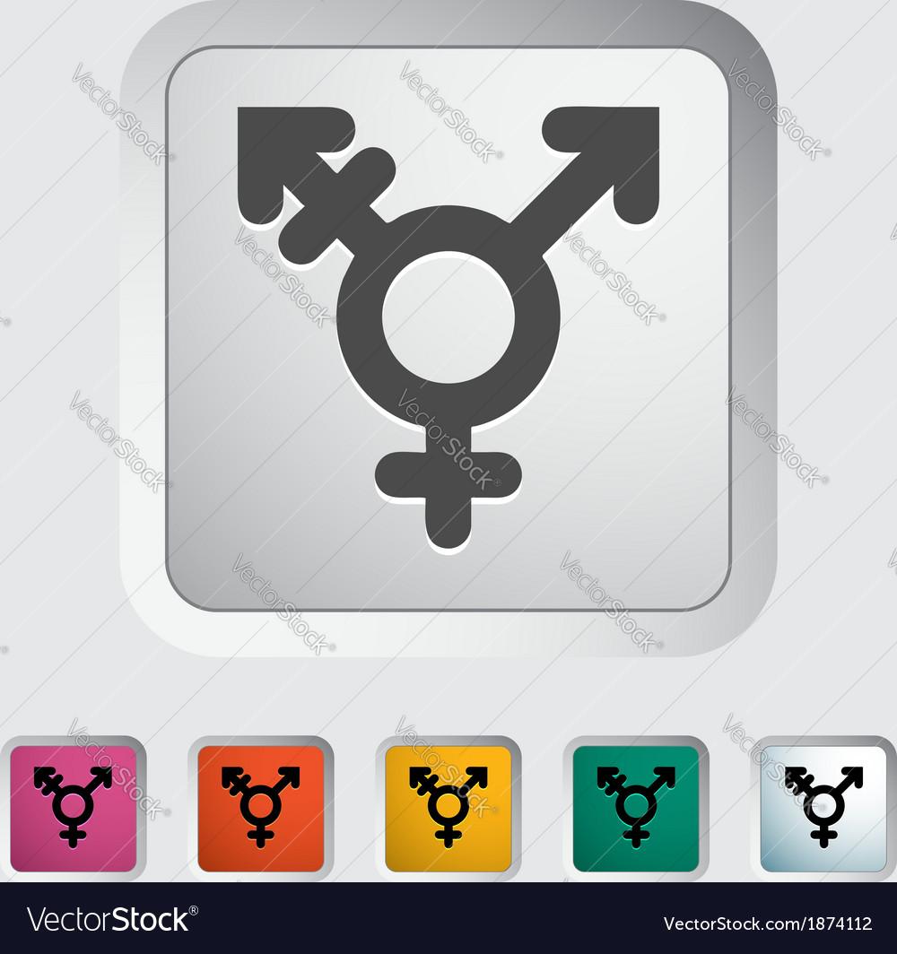 Bisexuals sign vector | Price: 1 Credit (USD $1)