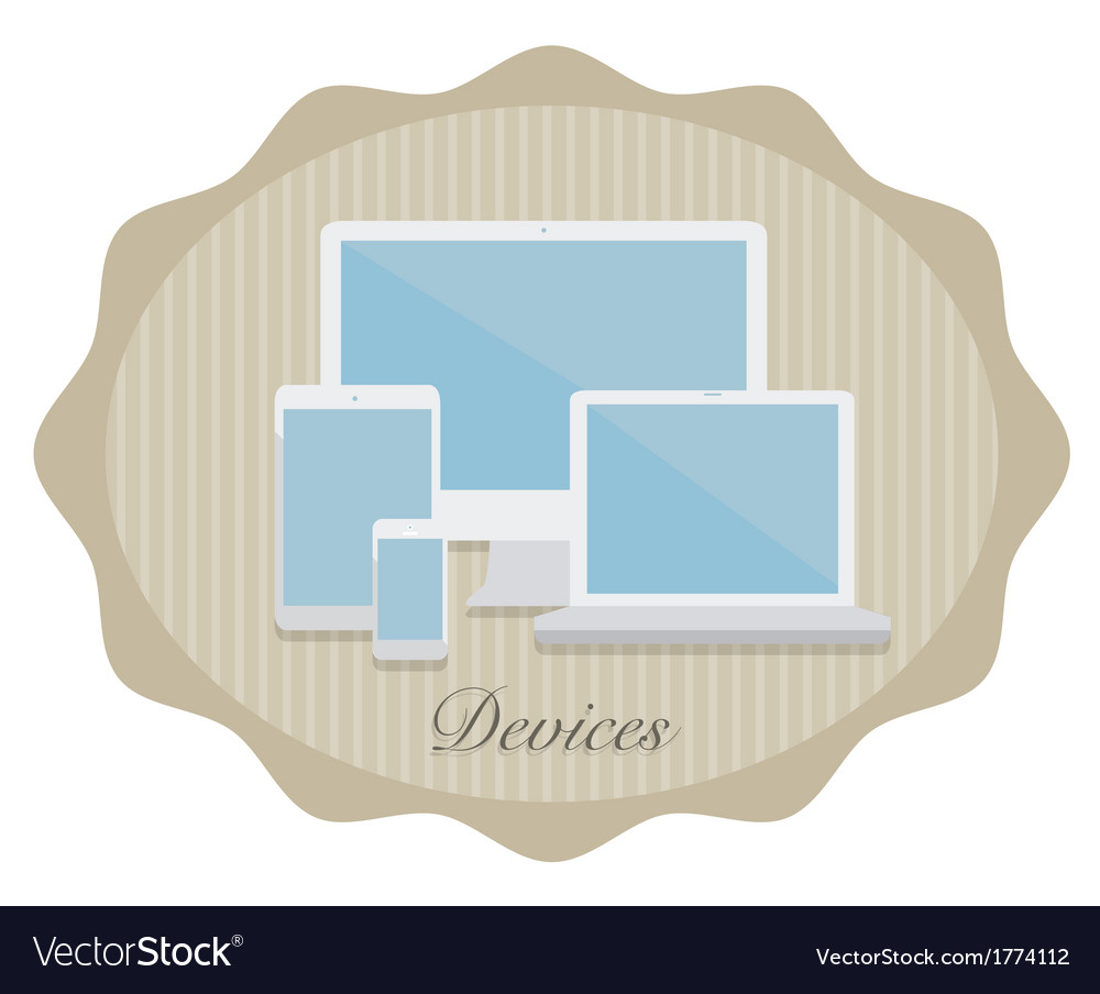 Devices4 vector | Price: 1 Credit (USD $1)