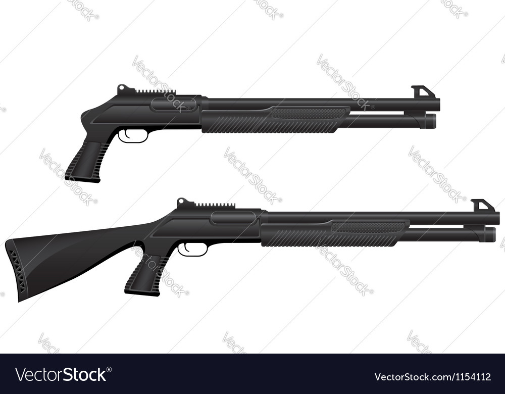 Shotgun 05 vector | Price: 1 Credit (USD $1)