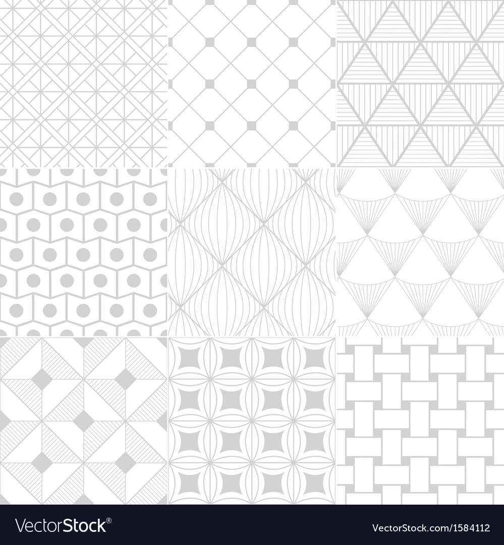White background seamless pattern vector | Price: 1 Credit (USD $1)